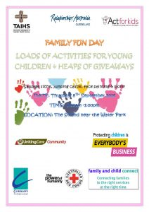 Townsville Family Support Alliance Family Fun day @ Near the gated playground The Strand | Queensland | Australia