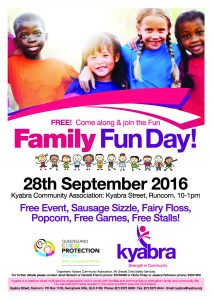 Free Family Fun Day @ Kyabra Community Association | Runcorn | Queensland | Australia
