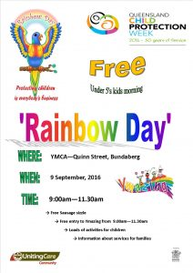 Rainbow Day @ YMCA | Kepnock | Queensland | Australia